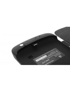 3000mAh Rechargeable External Battery Flip Open Leather Case for Samsung Premier i9260