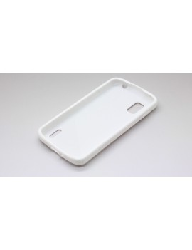 """""""S"""" Style Protective TPU Back Case for LG Nexus 4"""