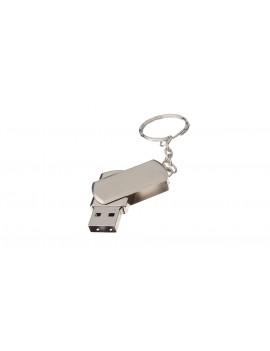 32GB Rotated USB 2.0 Flash Drive w/ Keychain