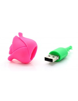 Rose Flower USB Flash/Jump Drive (16GB)