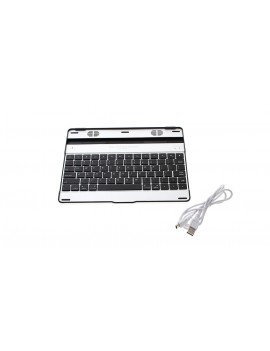 Bluetooth V2.0 Wireless Rechargeable 78-Key Keyboard for Apple iPad 2