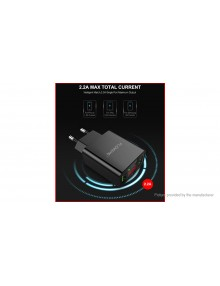 Authentic Floveme Portable Dual USB Wall Charger Power Adapter (EU)