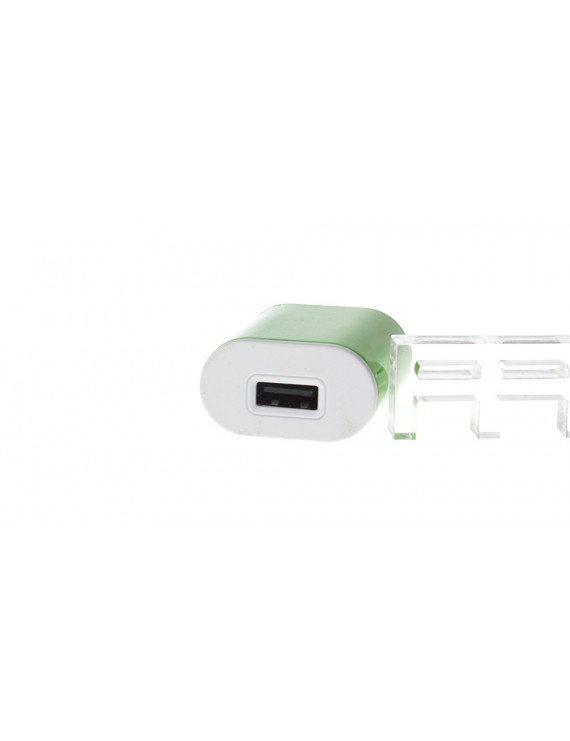 1.0A Single USB AC Power Adapter / Travel Charger