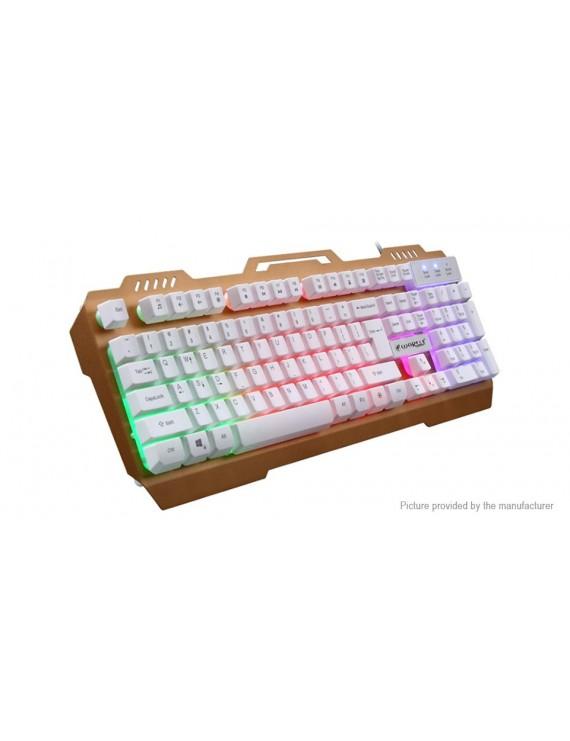 Warwolf K12 USB Wired Mechanical Gaming Keyboard